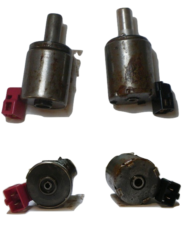 изношенные клапаны модуляции АКПП