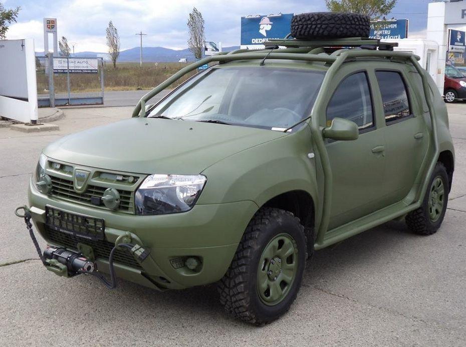 Военизированный Renault Dacia