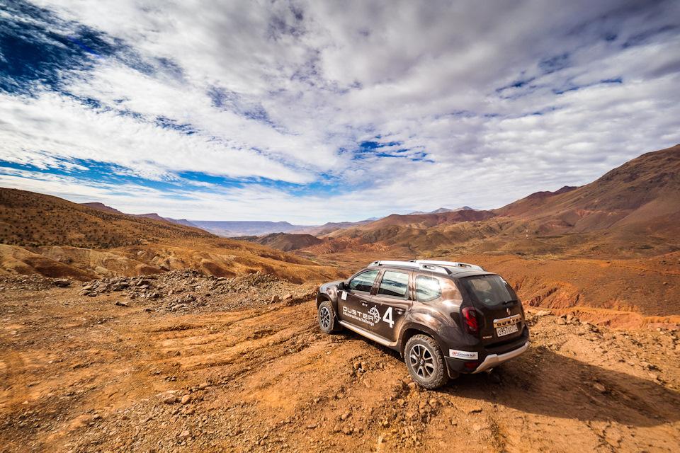 фото Дастера в марокко