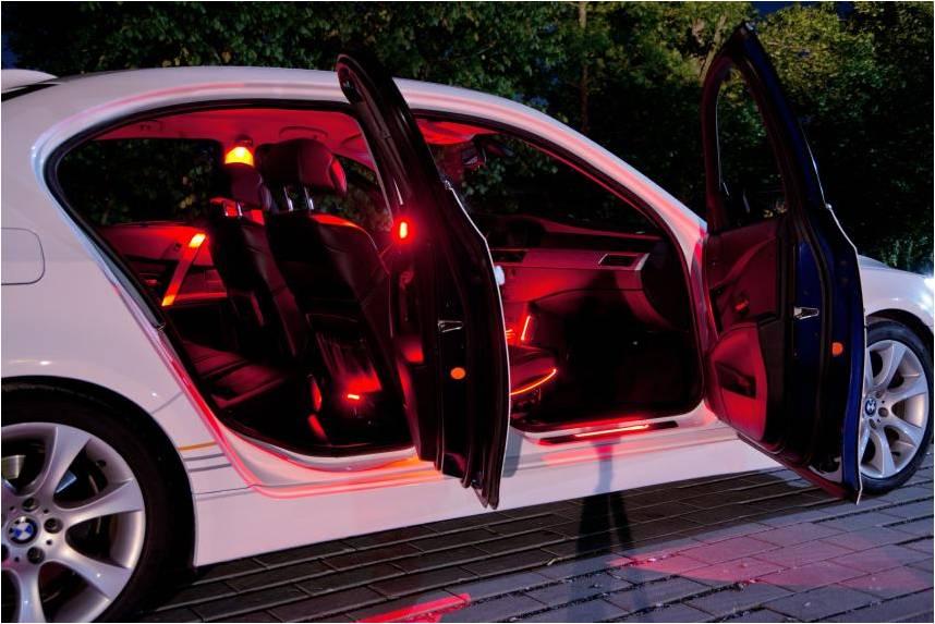фото освещения в авто
