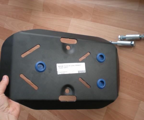 Защита заднего редуктора Renault Duster