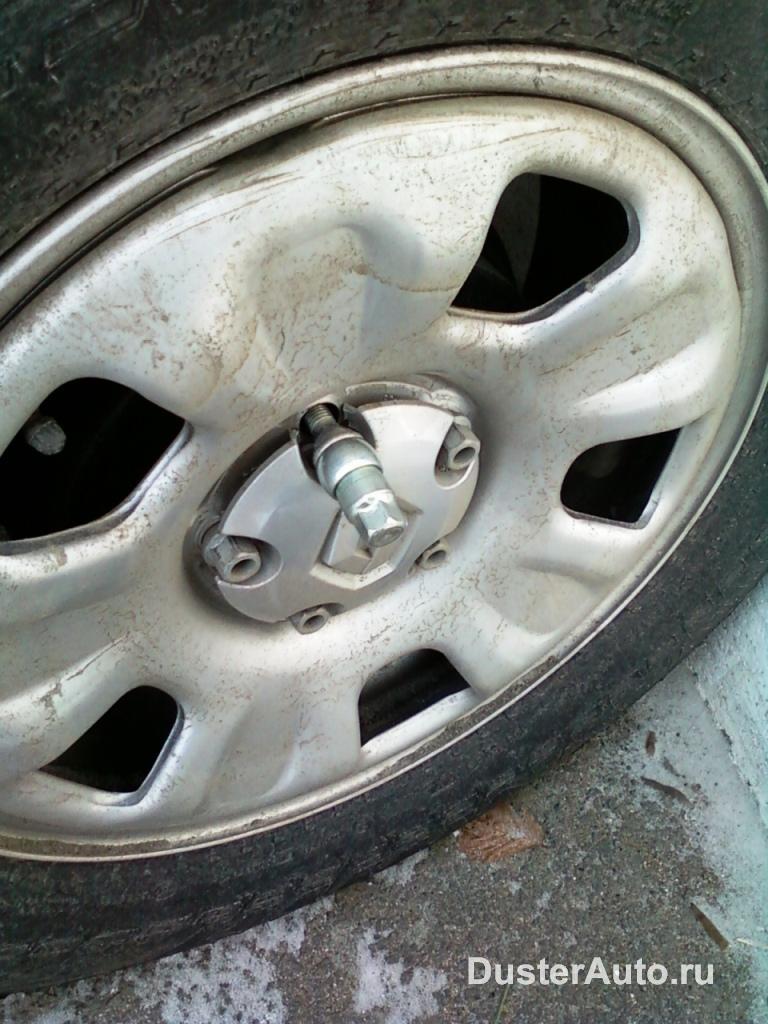 Установка секреток на колеса
