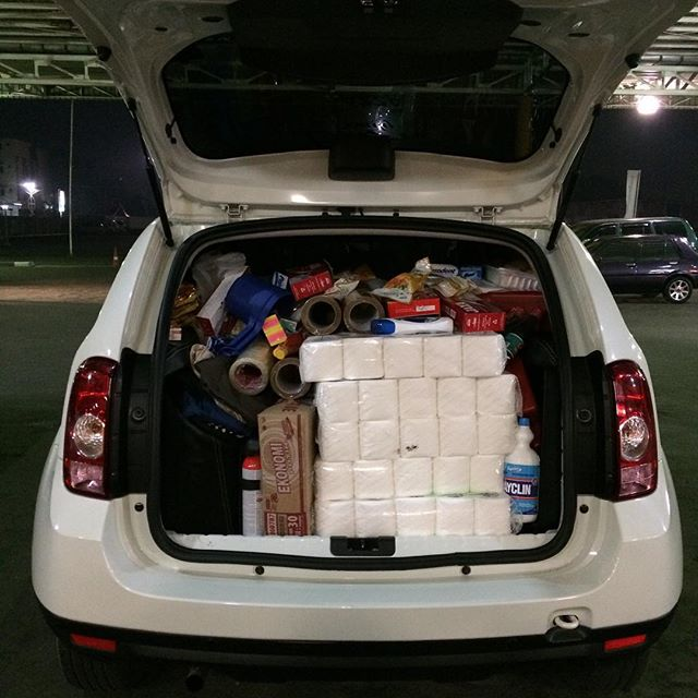вместимость багажника рено дастер