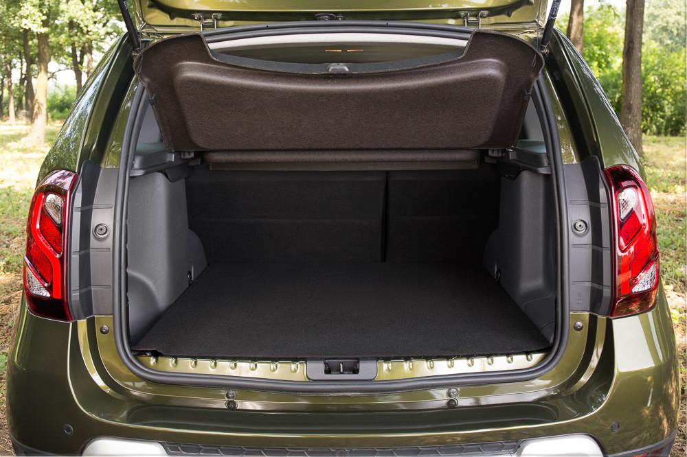 Рено дастер объем багажника со сложенными сидениями