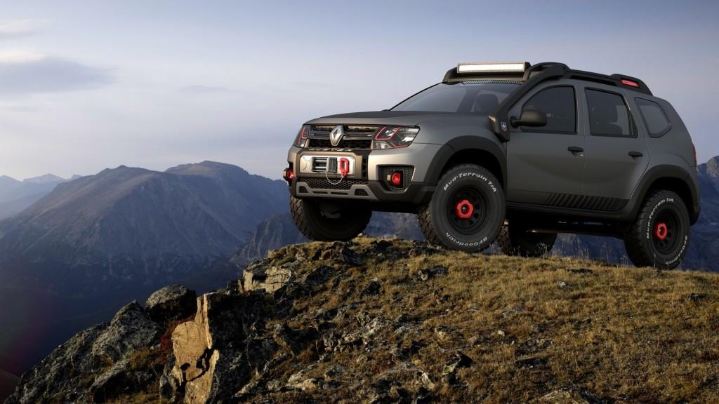 шоу-кар renault duster extreme