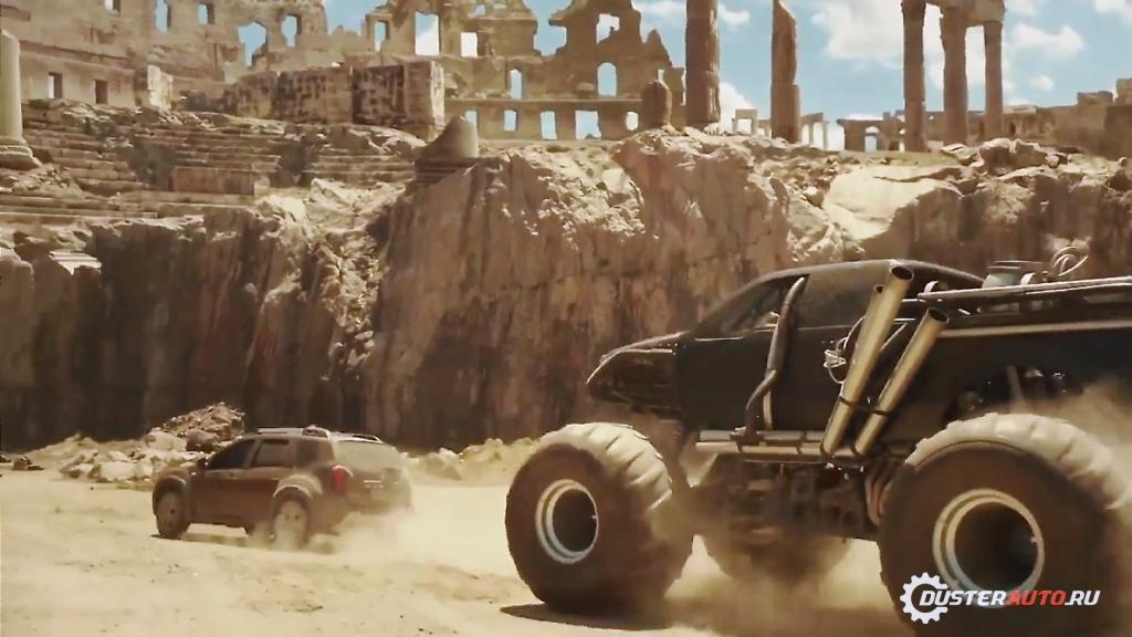 Renault Duster vs Monster trucks