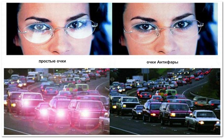 Эффект от очков