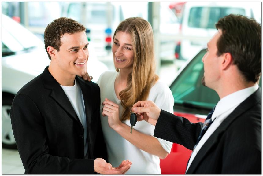 фото молодых покупателей
