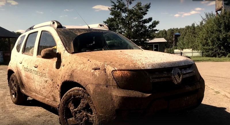 фото грязного Дастера