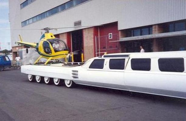Самый длинный автомобиль в мире