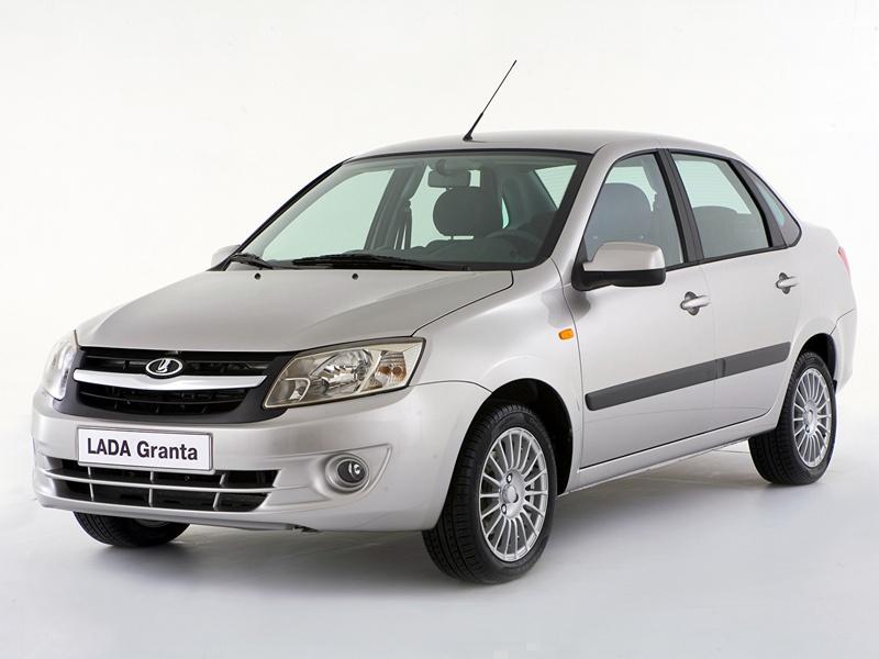 Российский дешёвый автомобиль - Лада Гранта