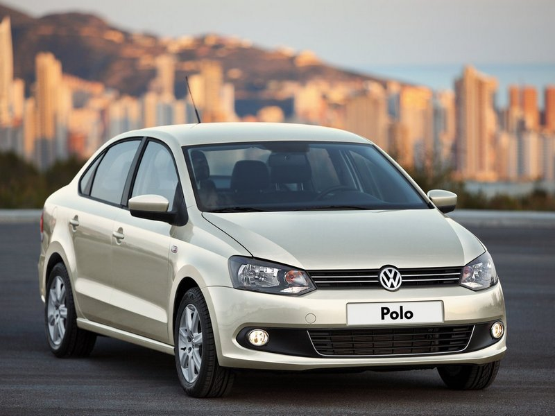 Германская дешевая модель Volkswagen Polo Sedan
